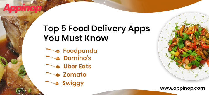Top 5 Food Delivery Apps