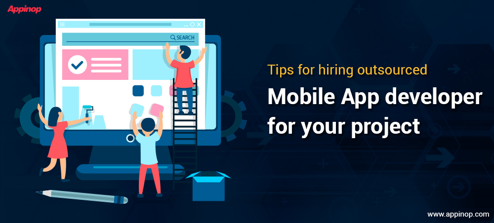 Hire Outsourced mobile App developer