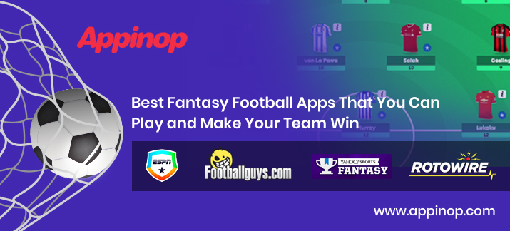 Fantasy football sports apps