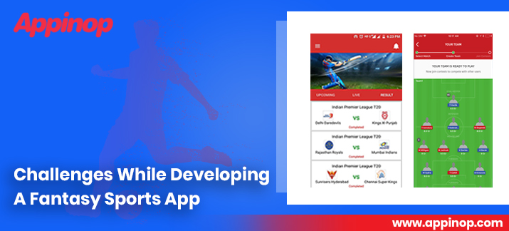Development challenges for fantasy sports apps