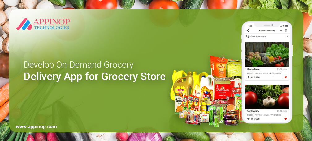 Grocery app development for shoppers